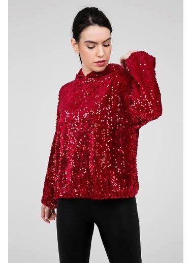 Busem Bluz Kırmızı